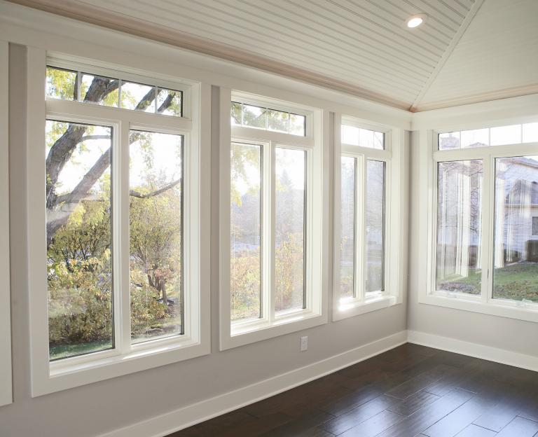 Screen Porch Converted To Sunroom
