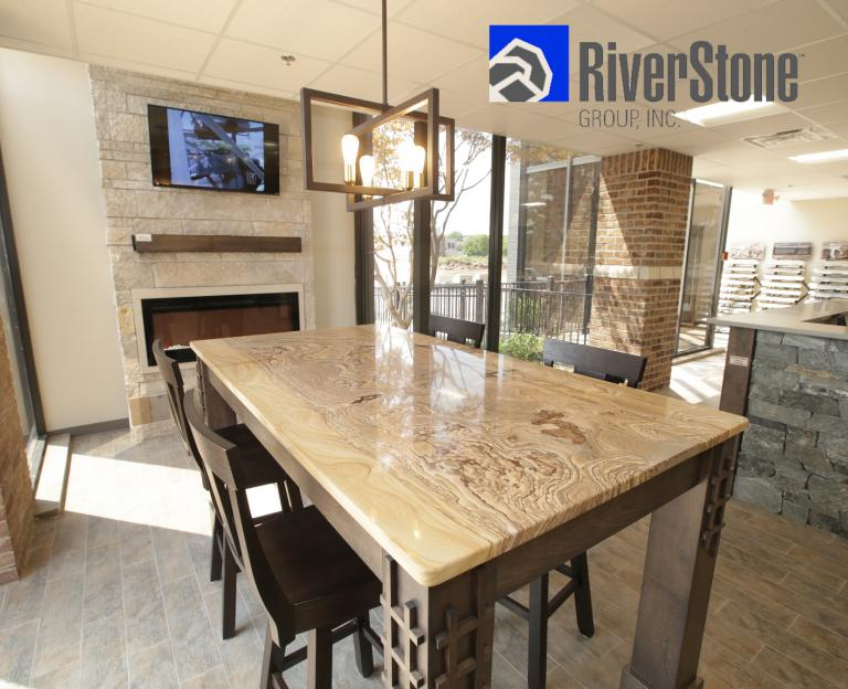 Conference area RiverStone Showroom remodel Moline, IL