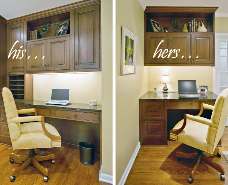 His & Hers Home Office