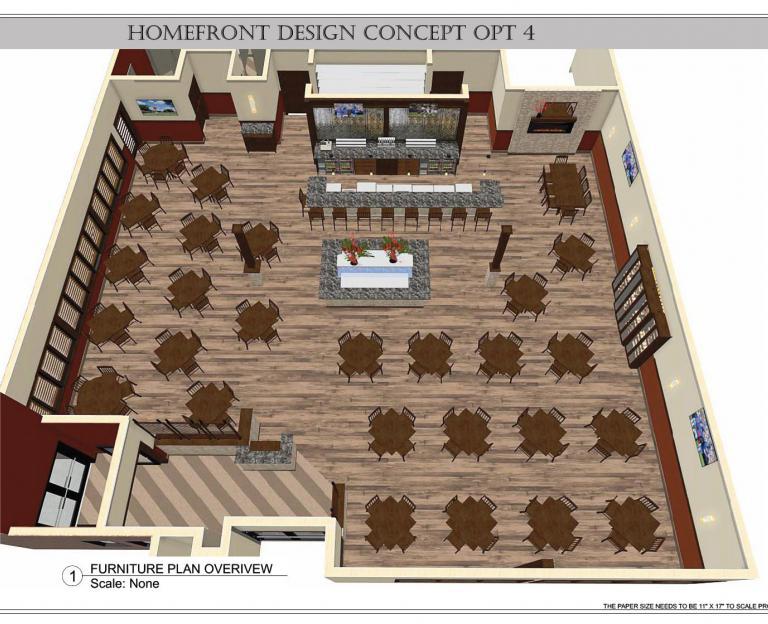 CAD seating plan