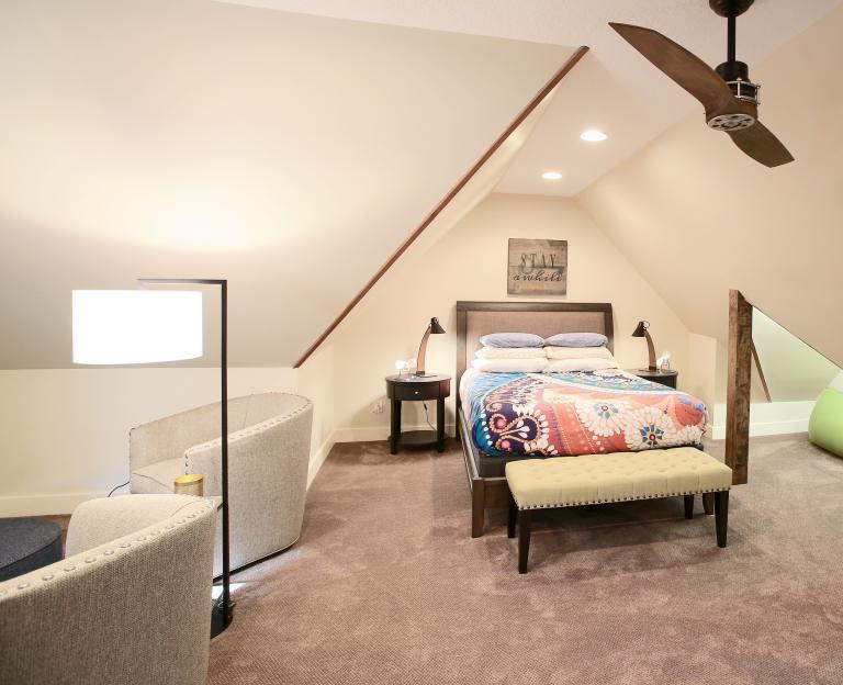 Unused Attic to Guest Suite