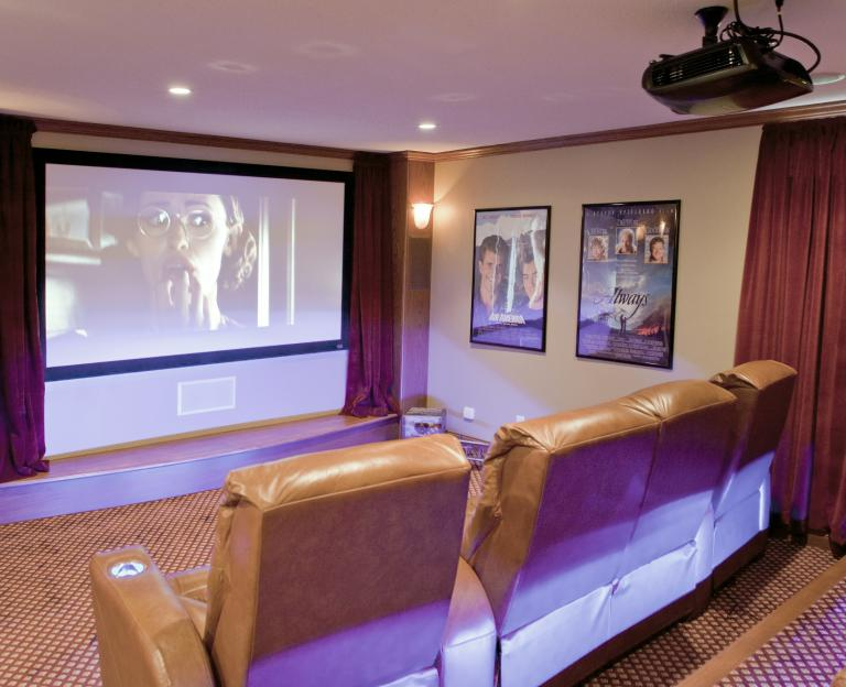 Theater Room for 8 people