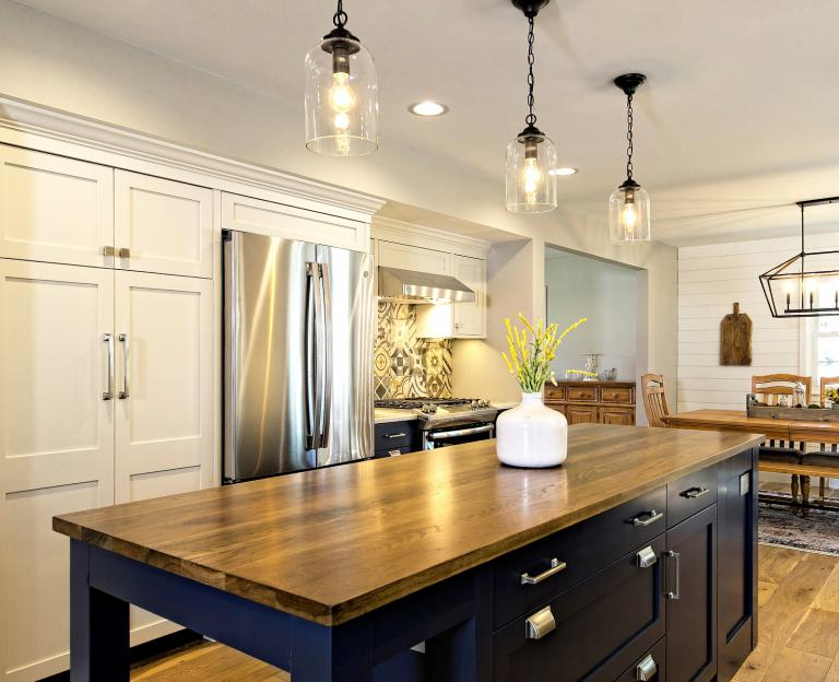 Tuxedo cabinetry