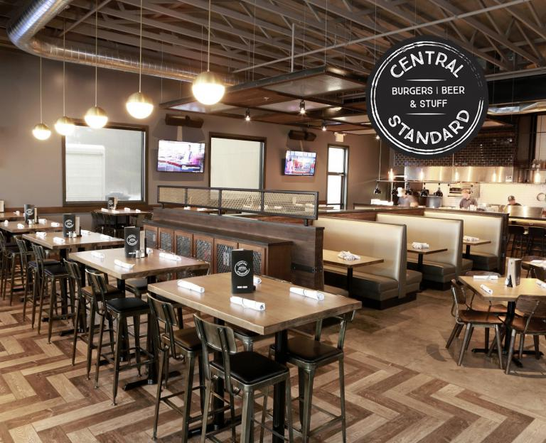 Central Standard | Craft Burgers & Beer main dining room
