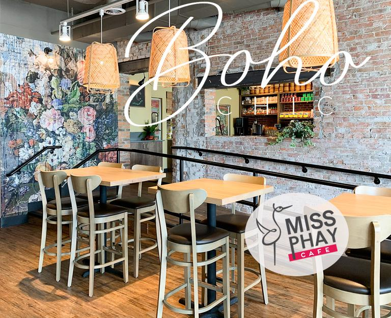 Miss Phay Cafe Boho-chic