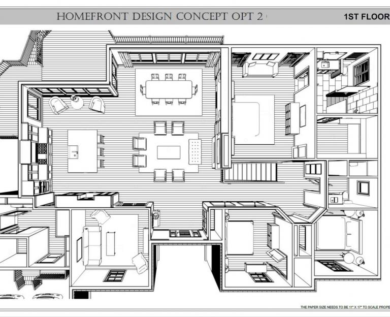 Residential Remodel Construction Plans